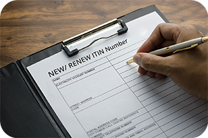 ITIN Applications and Renewals
